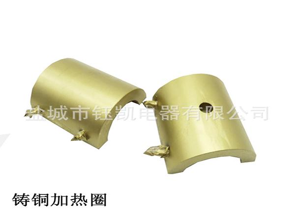 圆形铸铝电加热板