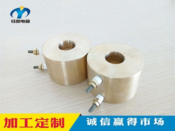 接线柱铸铜加热圈