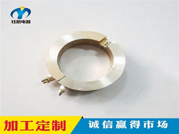 半圆形铸铜加热圈