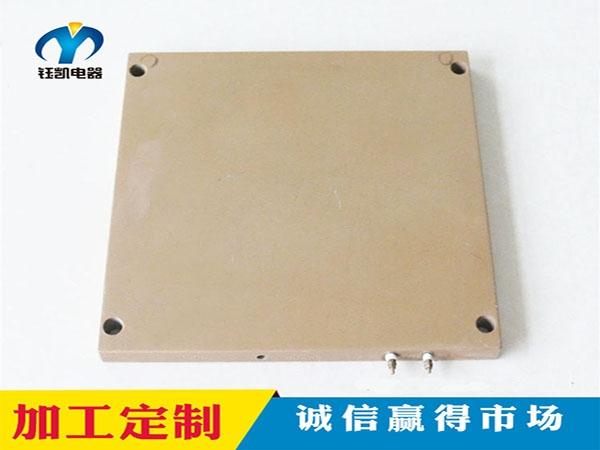 喷特氟龙铸铝加热板