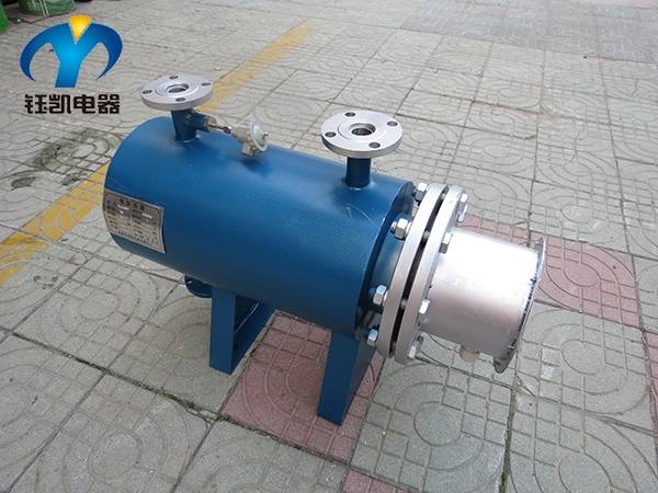小型碳钢管道加热器